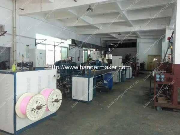 Plastic Coated Laundry Wire Hanger Production Line for Thailand Customer