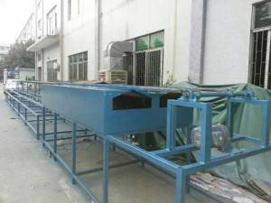 Wire Hanger Traceless PE Coating Line