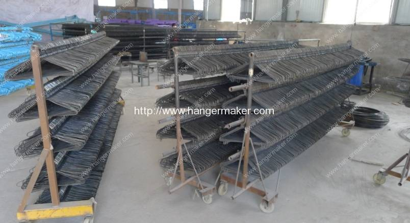 black wire hanger making machine
