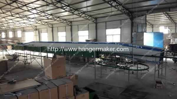 Full-Automatic-Wire-Hanger-Powder-Coating-Line