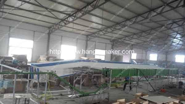 Full-Automatic-Wire-Hanger-Powder-Coating-Machine