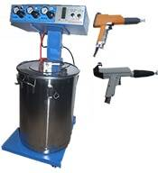 electrostatic powder sprayer coating machine
