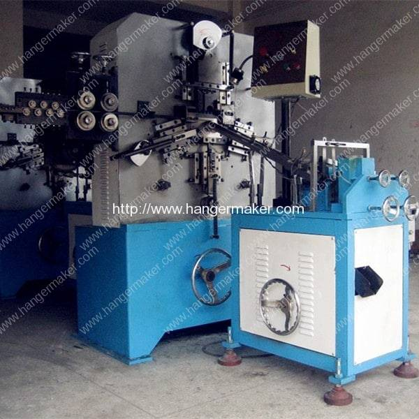 3mm & 3.5mm Wire Hanger Hook Making Machine for Middle East Customer