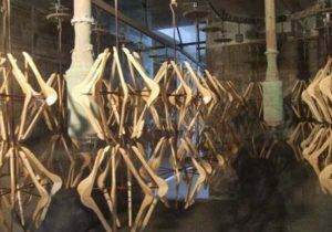 Automatic Wooden Hanger Spray Painting Plant