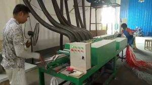 Automatic Wooden Hanger Polishing Machine Before Painting