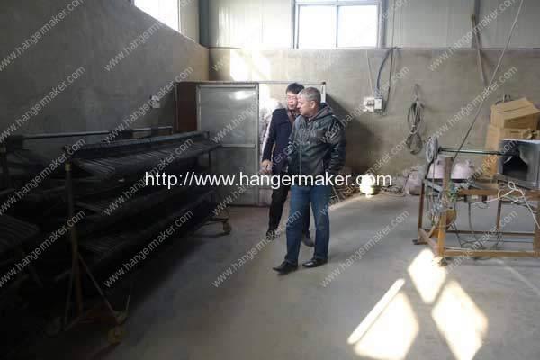Lv-Hangers-Inc-Visit-Romiter-Wire-Hanger-Making-Machine