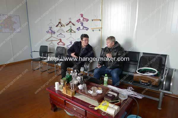 USA Lv Hangers Company Visit our Factory for Coated Wire Hanger Plant