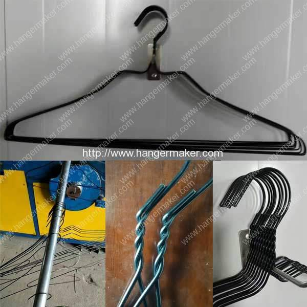 USA-Customer-Visit-Factory-for-Testing-PET-Coated-Wire-Hanger-Making-Machine