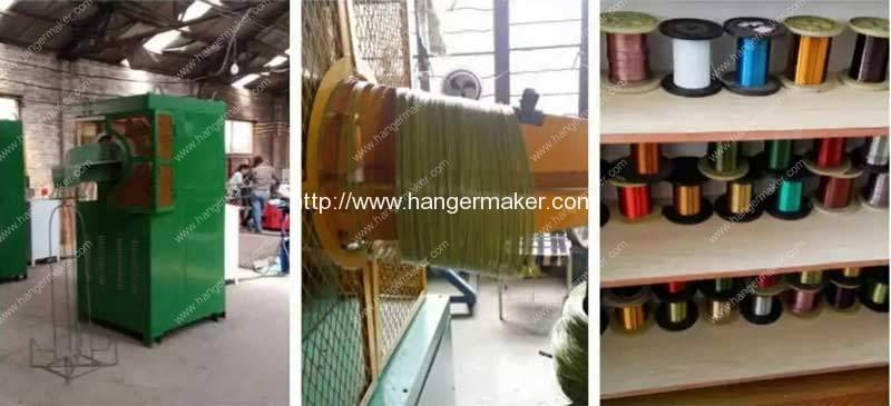 Automatic-PET-Wire-Coating-Machine-Coated-Product-and-Wire-Collection-Device