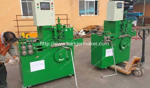 PLC-Control-Laundry-Coating-Wire-Hanger-Making-Machine-Delivery-for-America-Customer
