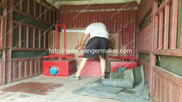 PLC-Control-Laundry-Coating-Wire-Hanger-Making-Machine-Delivery-for-America-Market