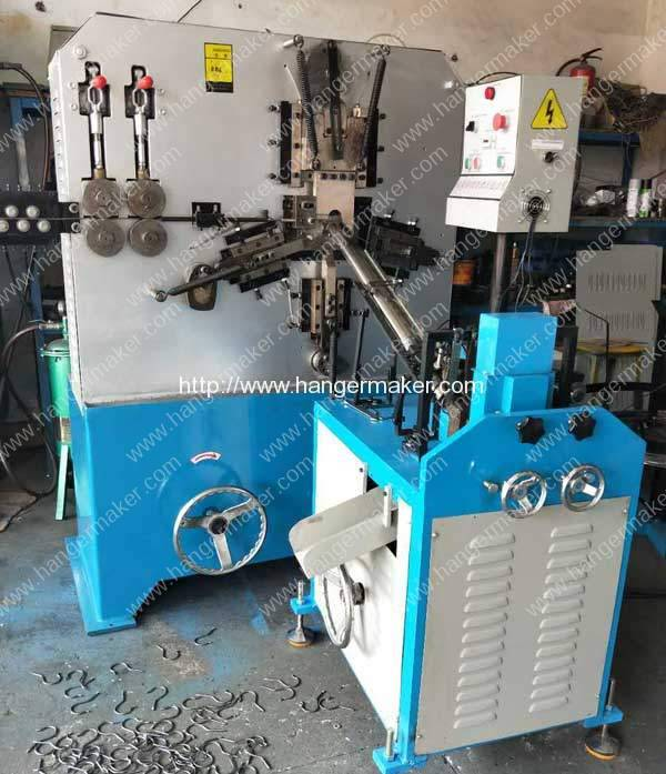 Automatic Metal Hook Making Machine for Egypt Customer