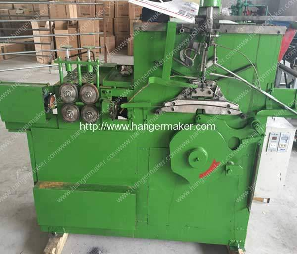 Laundry Carbon Black Wire Hanger Making Machine for Pakistan Customer