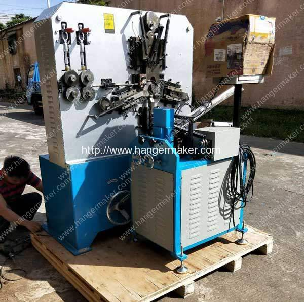 Metal Hook Making Machine Delivery for Egypt Customer