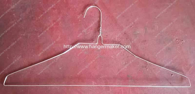 Galvanized-Wire-Hanger-Making-Machine-for-Dominica-Customer-Product