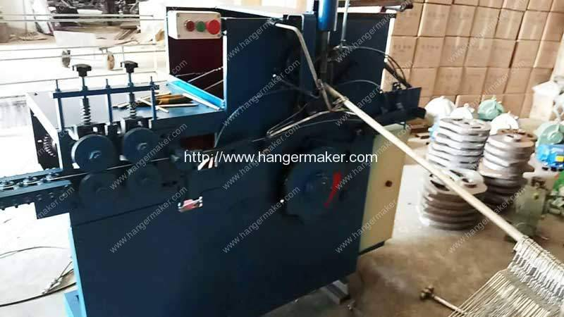 Galvanized Wire Hanger Making Machine for Dominica Customer