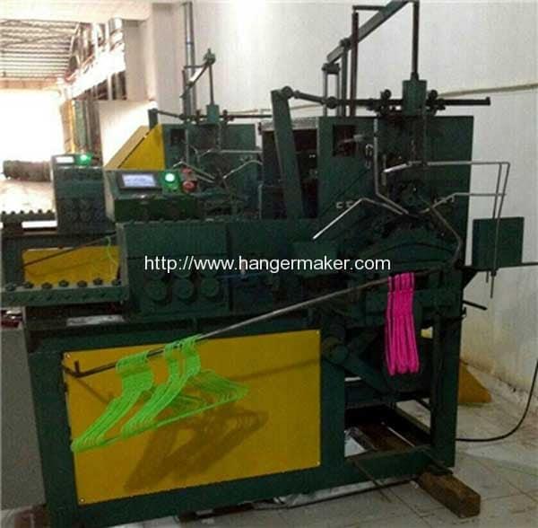 Auto-PVC-Coated-Wire-Hanger-Making-Machine