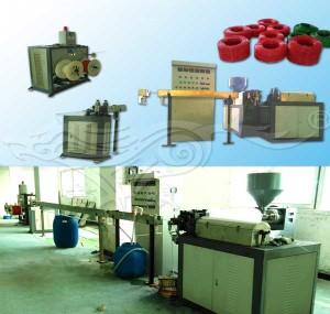 Máquina de alambre de acero de revestimiento de PVC