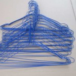 Laundry PE Powder Coated Wire Hanger for Sale