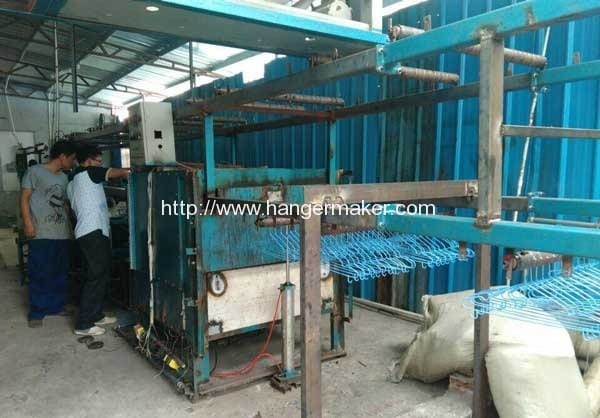 PVC-Wire-Hanger-Plastic-Coating-Machine