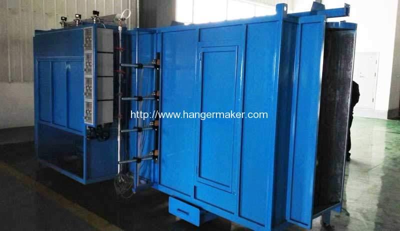 Full Automatic Wire Hanger Electrostatic Spray Powder Coating