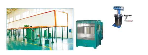 Полуавтоматическая электростатическая машина для нанесения покрытий распылением