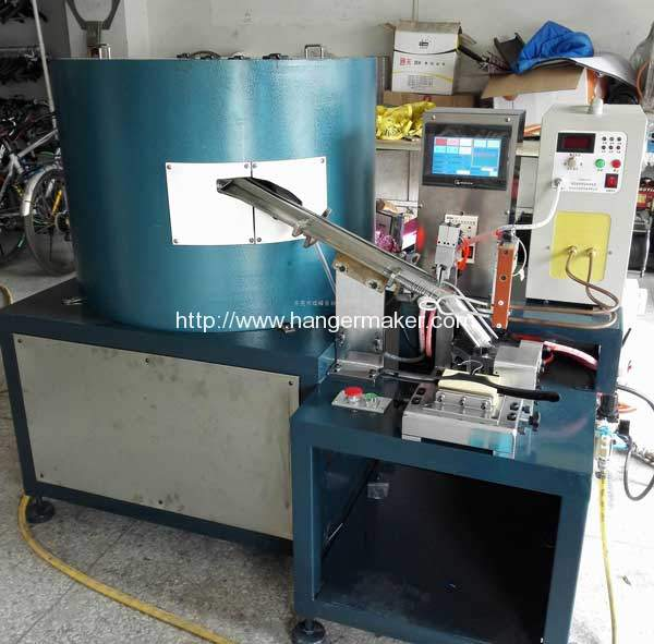 Semi-Automatic Plastic Hanger Hook Inserting Machine for