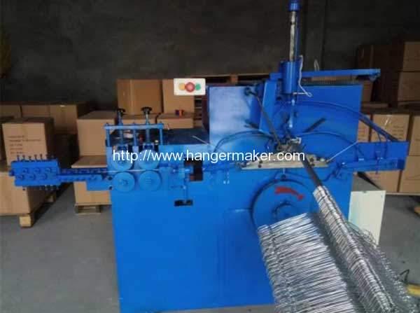 Galvanized Wire Hanger Forming Machine for Bahrain Customer | Wire