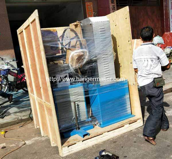 Plywood-Package-for-Metal-Hook-Making-Machine