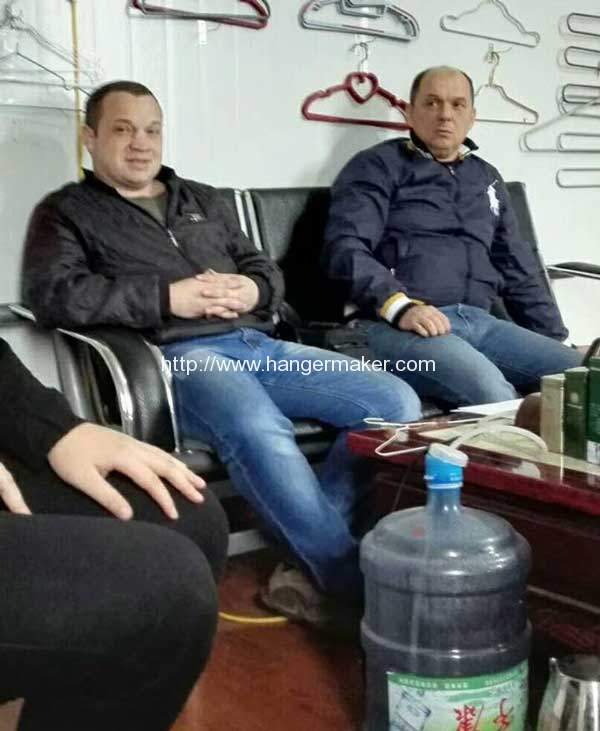 Ukraine-Customer-Visit-PET-Wire-Coating-Plant
